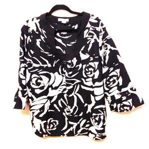 plus Sz 18W Floral Top